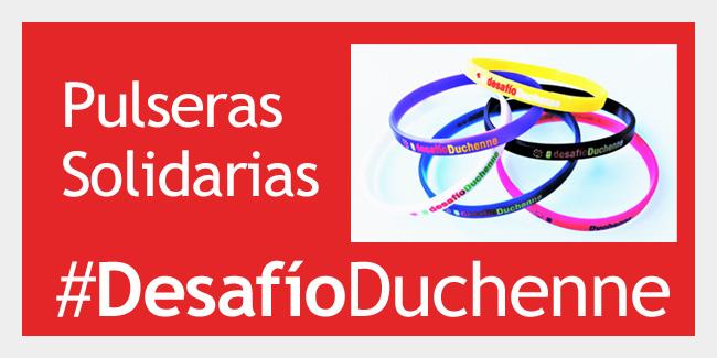 Pulseras solidarias Duchenne